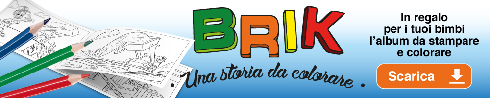 Banner Album Brik Da Colorare